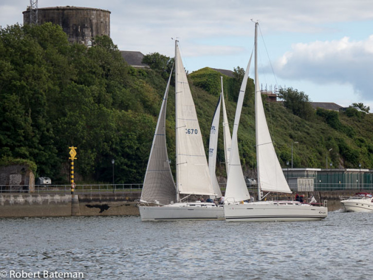 Cove Sailing Club Race Starts From New Marina (Photos HERE!)