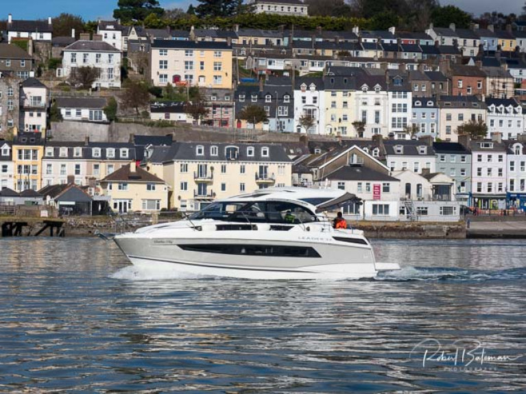 A new Jeanneau Leader afloat in Cork Harbour this Autumn