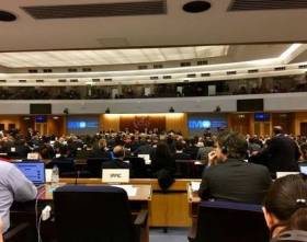 The IMO's Marine Environment Protection Committee will this week in London discuss an EU proposal on exhaust gas cleaning systems (scrubbers).