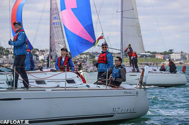 Michael Blaney's Beneteau 31.7 'After You' from the Royal St. George Yacht Club will be in the second start in this Sunday's fourth race