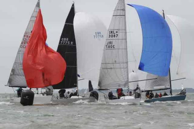 Two Irish Quarter Tonners in Top Ten of Revival Cup at Cowes