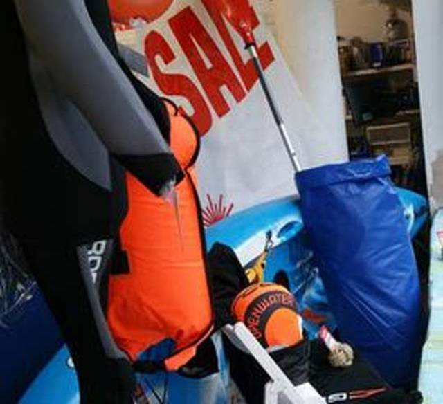 Sailors Turned Swimmers Are all Kitted Out for Drop in Temperatures at Viking Marine