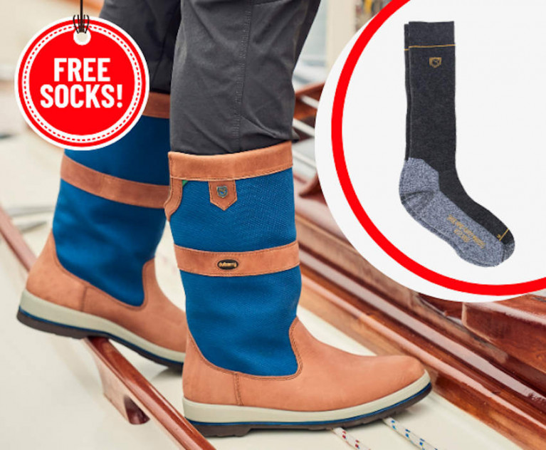 Free 'Kilrush' Socks with Selected Dubarry Boots at CH Marine