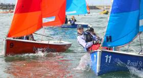 18 teams took part in the third Elmo Trophy event, with most of the top youth sailors in Ireland competing. Perfect conditions for team racing on Saturday saw 81 races sailed