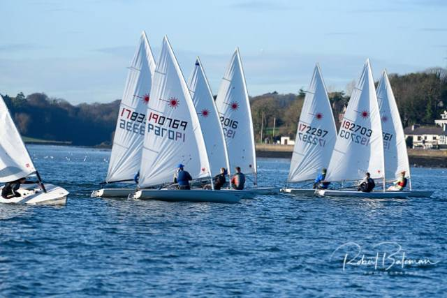 Monkstown's Charles Dwyer Leads CH Marine Laser League on Cork Harbour
