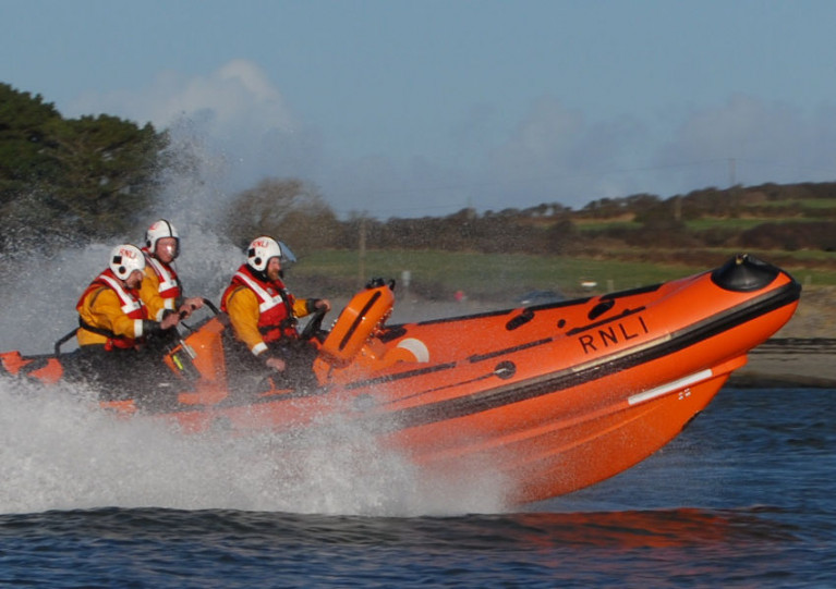 Kilrush Lifeboat Launches to Capsized Catamaran in Shannon Estuary