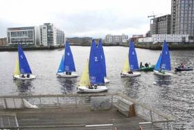 UCD Sailing Team Success on the Liffey at Annual Colours Match