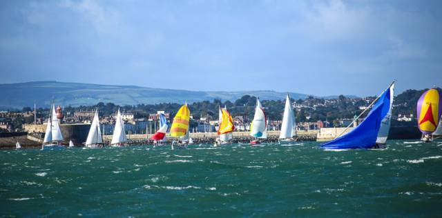 A windy start to the 2016 Kish Race