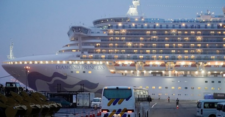 Quarantine period for Diamond Princess passengers and crew is due to end 19 February