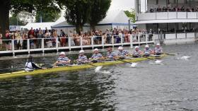 Trinity Row Over at Henley Brings Joy and Tinge of Sadness