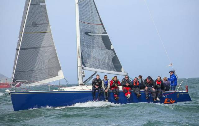 J109 Something Else (John and Brian Hall) from the National Yacht Club was the Cruisers One winner on Dublin Bay