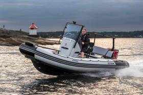 The new Open 5.5 Zodiac RIB available from MGM Boats in Dun Laoghaire