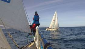 Clipper Fleet Puts Scoring Gate Behind Them On Race Up NSW Coast