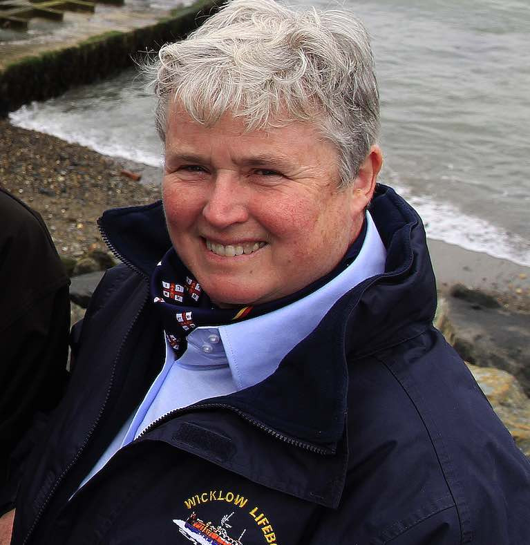 Wicklow RNLI's Mary Aldridge