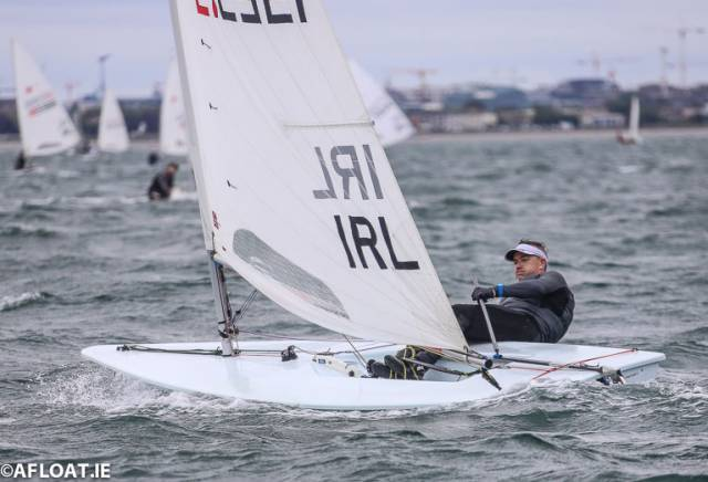 Laser Master Ross O'Leary stays in contention for VLDR honours with two second places and a third