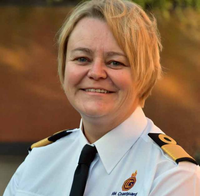 The new Head of Maritime Operations, Julie-Anne Wood