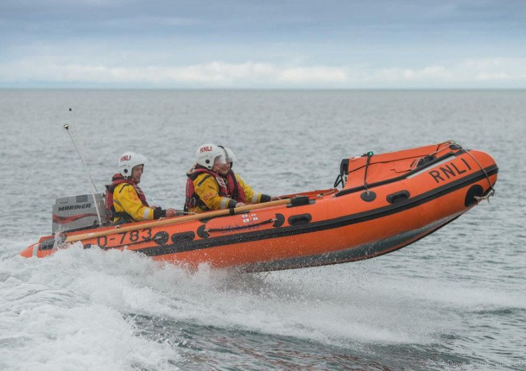 Larne Lifeboat Launches To Jet Skier In Difficulty