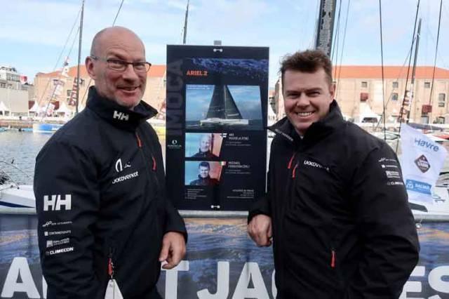 Bangor Sailor Mikey Ferguson Takes on Transat Jacques Vabre Race