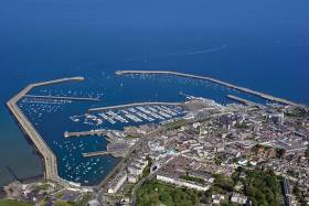 Dun Laoghaire harbour – Ireland's marine leisure capital where pooling yacht club resources will be key to the future growth of the sport