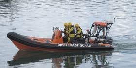 Howth Coast Guard treated a diver on the slip in Howth this afternoon
