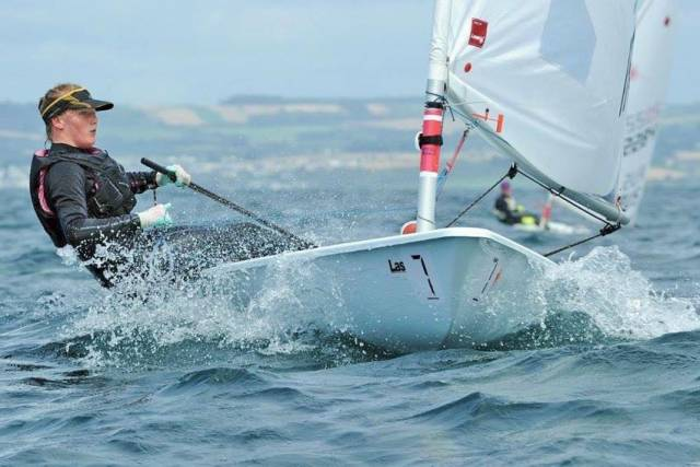 Howth's Aoife Hopkins is two points clear of the women's fleet heading into the final series