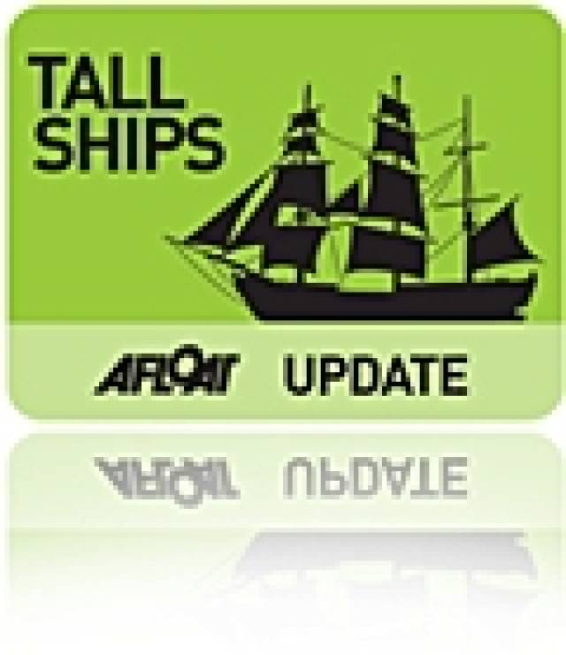 Sail Training Ireland Announces Tall Ships Voyages for 2013