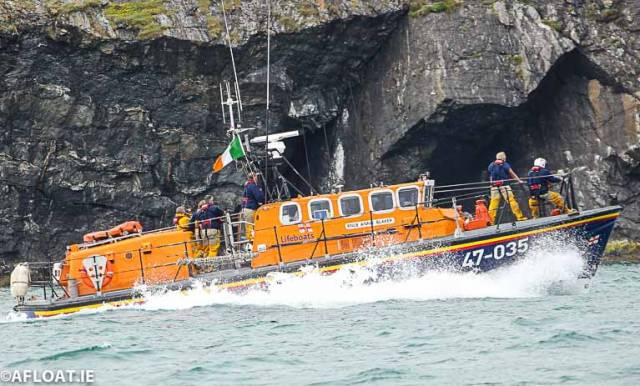 Wicklow's RNLI lifeboat Annie Blaker