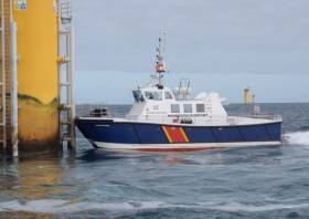 AMS Panther is one of the three vessels that will be involved in the ecological survey for the Dublin Array between now and May 2020