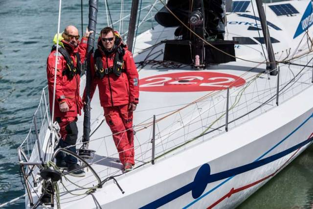 Belfast Lough's Mikey Ferguson to Co-Skipper IMOCA 60 Ariel2 in October's Transat Jacques Vabre