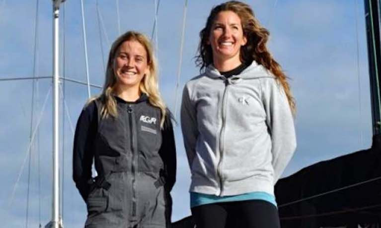 "Pamela Lee & Catherine Hunt are ""Sailors of the Month"" for October"