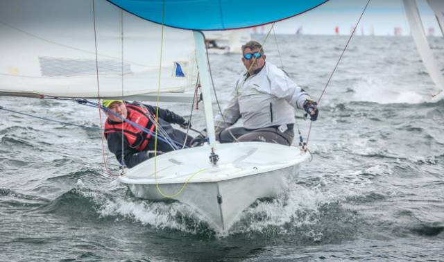 In the build up to the Flying Fifteen World Championships on Dublin Bay in 2019, the DBSC class has a racing fleet of 29 boats
