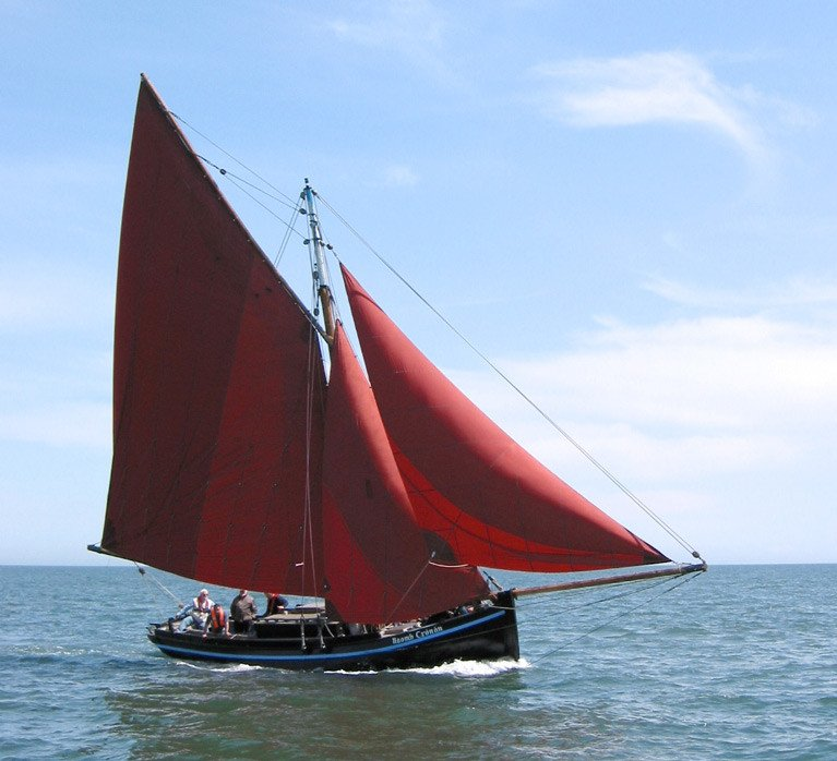 Irish Traditional Boat Naomh Cronan Goes West Amidst New Government Structures