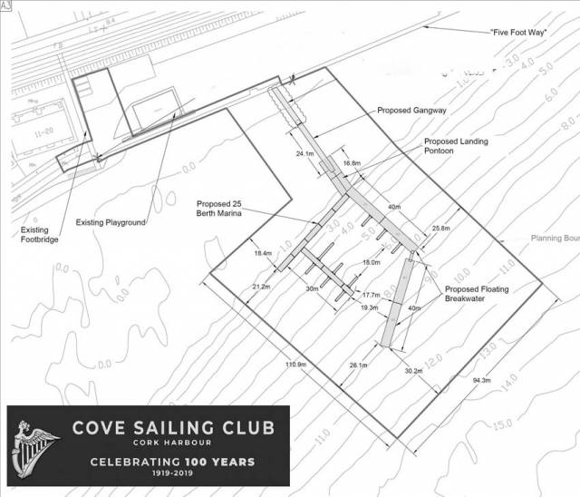 Cove Sailing Club Celebrates Planning Approval For New Marina At Whitepoint