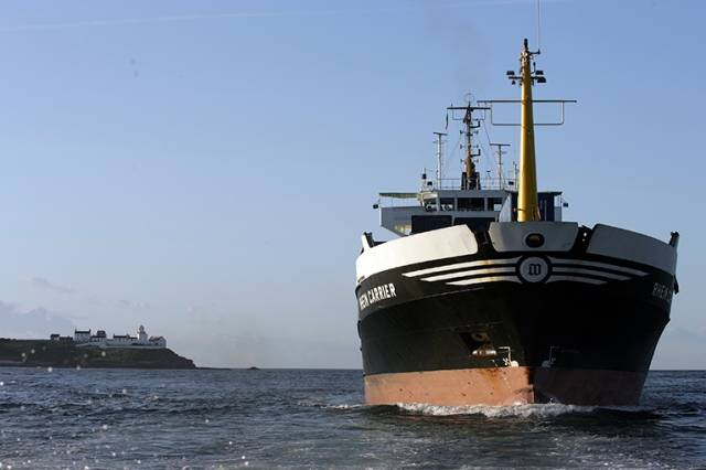 The Rhein Carrier is a regular cargo ship visitor to the Port of Cork