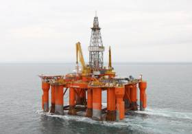 Rigs like the Blackford Dolphin have been used for offshore exploration in Irish waters