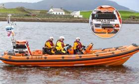 Sligo Bay RNLI's new Atlantic 85 Sheila & Dennis Tongue