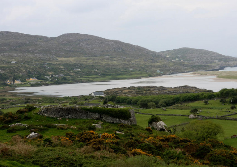 Kenmare Bay in Co Kerry