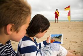 The RNLI's Beach Builder Challenge uses the popular video game Minecraft to teach water safety
