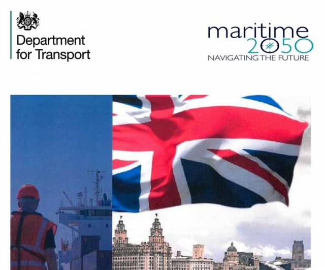 British Government Launches 'Maritime 2050' to Aid €40bn Marine Industry