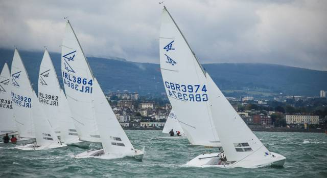 The Flying Fifteens, one of Ireland's strongest one design fleets, are racing for national honours on Dublin Bay later this month