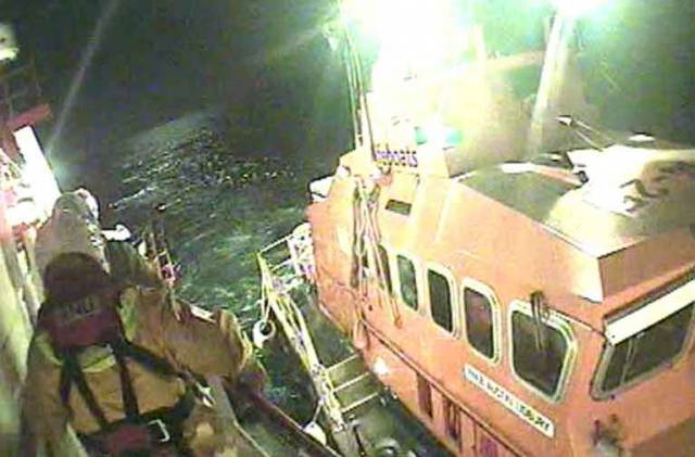 The medical evacuation of a fisherman  took place 20 miles south of Ballycotton Lighthouse