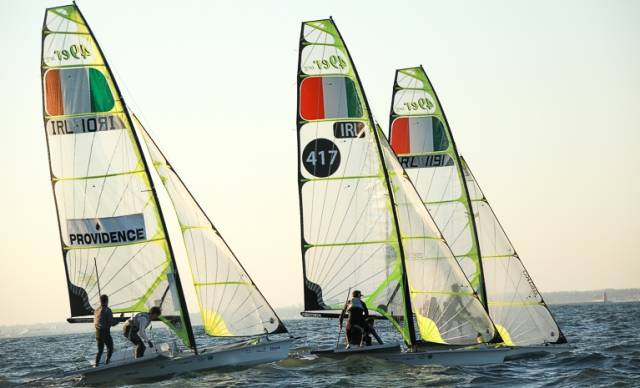 It's all change in the Irish 49er camp with as many as four campaigns set for Tokyo 2020