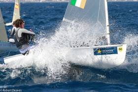 Northern Ireland sailor Oisin McClleland makes a splash in Palma