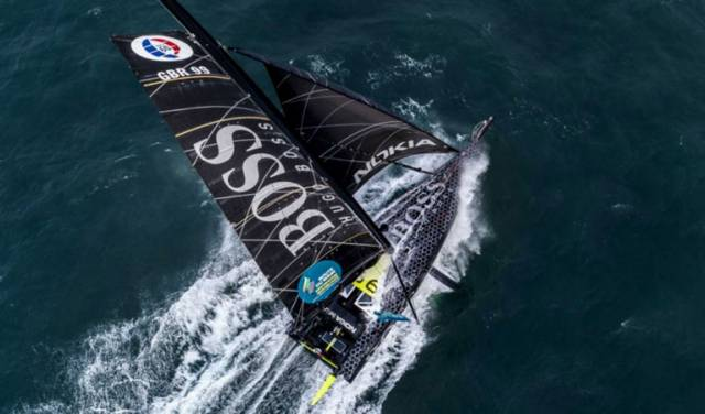 The 44-year-old British skipper in Hugo Boss is not tipped by French experts