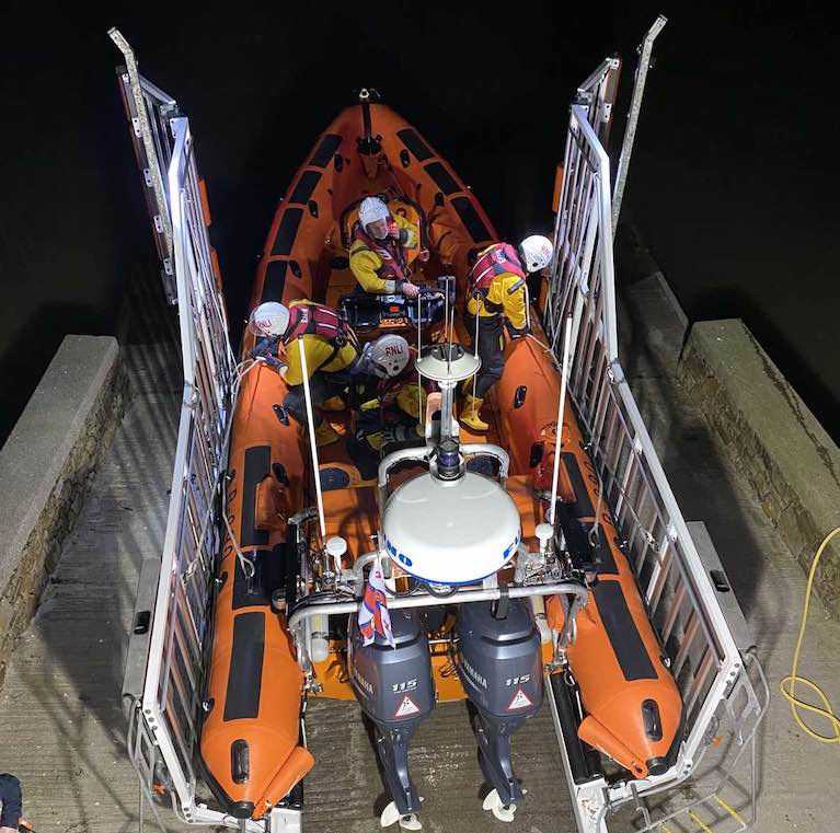 Youghal RNLI get ready to launch