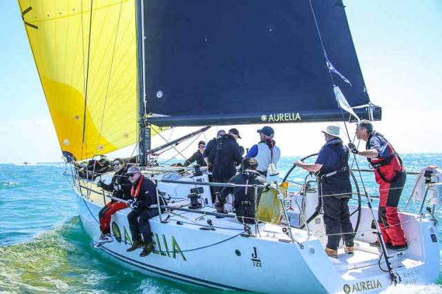 Aurelia is in the hunt for overall ISORA honours