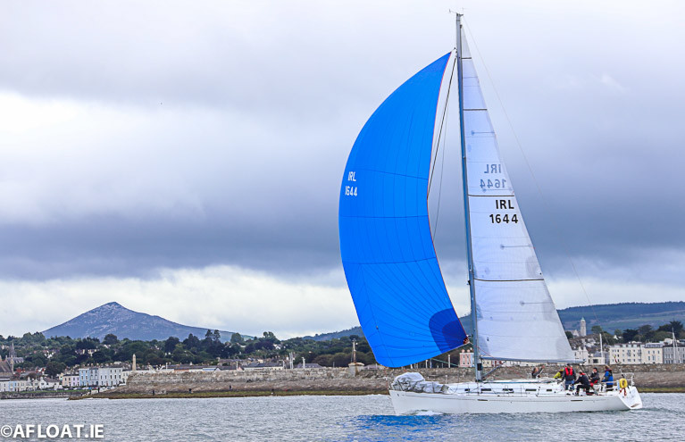Rodney and Keith Martin's Lively Lady was second in DBSC Cruiser 0 Echo
