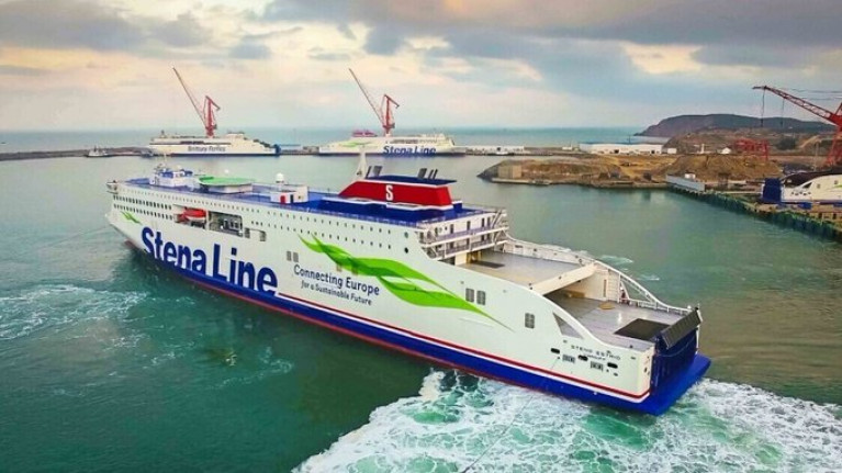 The Stena Estrid will operate on the new weekend Dublin-Cherbourg route. AFLOAT adds the ferry firm will compete with Irish Ferries, to become the second operator serving on the Irish capital-mainland continental Europe route.