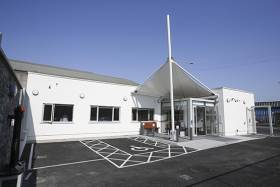 Dublin Port Company has invested €500,000 in a new Seafarers' Centre at Dublin Port. Housed in the former Odlums workers' canteen, the Centre provides vital services to sailors docking at the port under the care of the Mission to Seafarers (The Flying Angel) and the Catholic Apostleship of the Sea (Stella Maris)