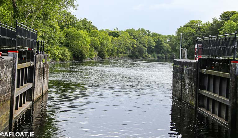 Clarendon Lock at the entrance to Lough Key